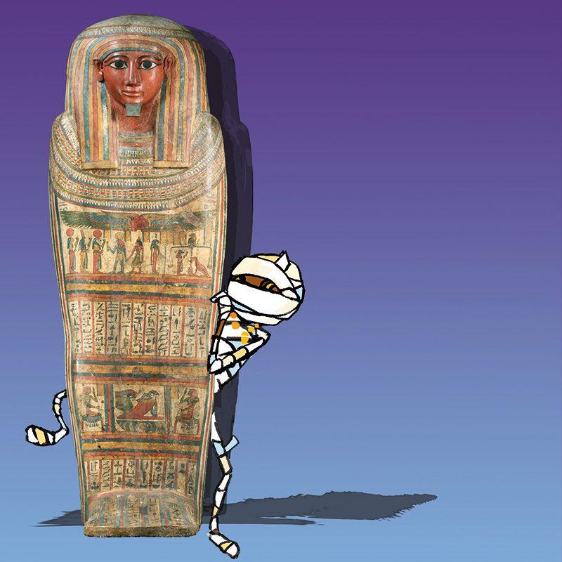 Speurtocht met Dummie de mummie