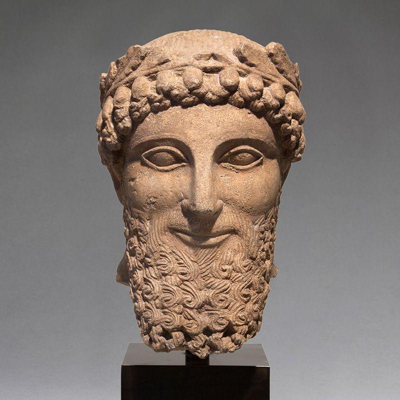 Portretkop portretbeeld Cyprus