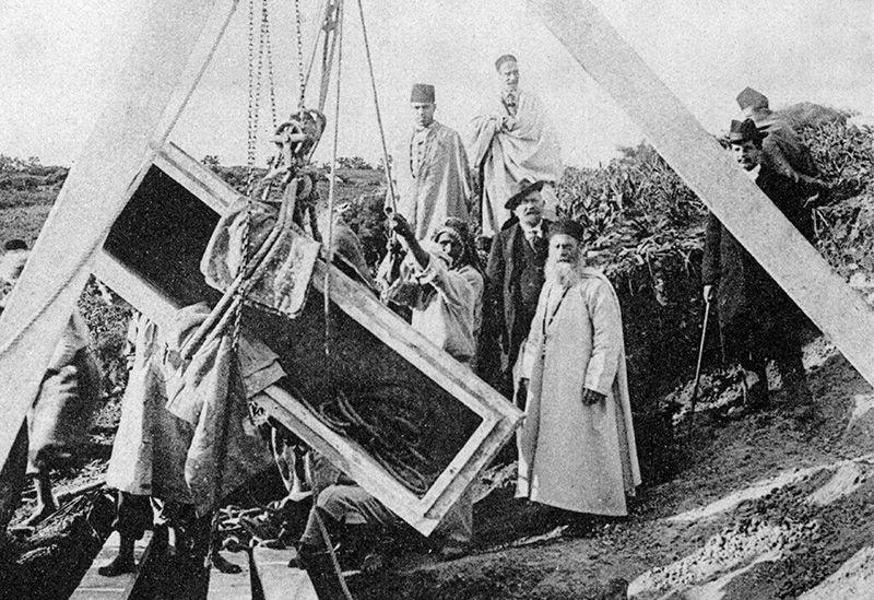 Foto's opgravingen Carthago