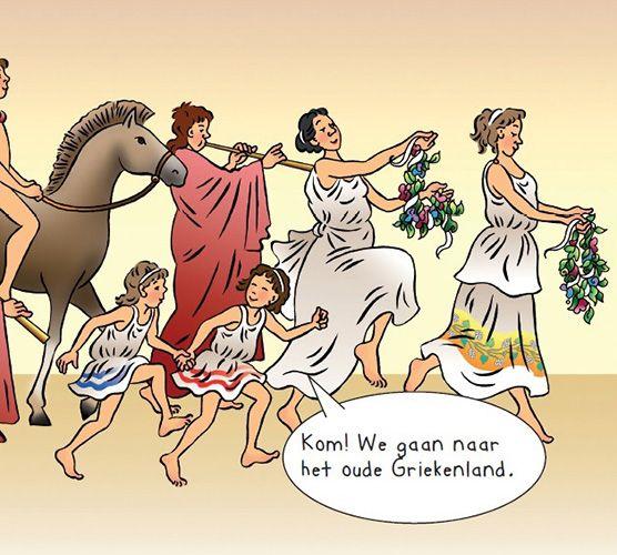 Speur- en doeboekje Grieken speurtocht
