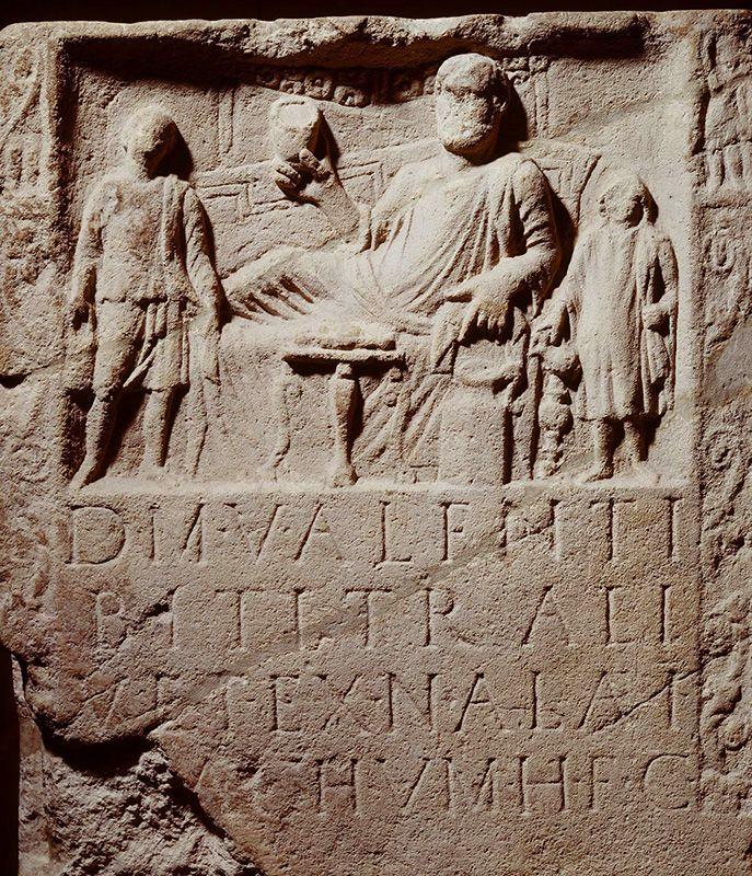 Grafsteen_Vechten_Valens Oudheid voor iedereen