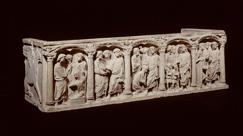 Romeinse sarcofaag Rubens