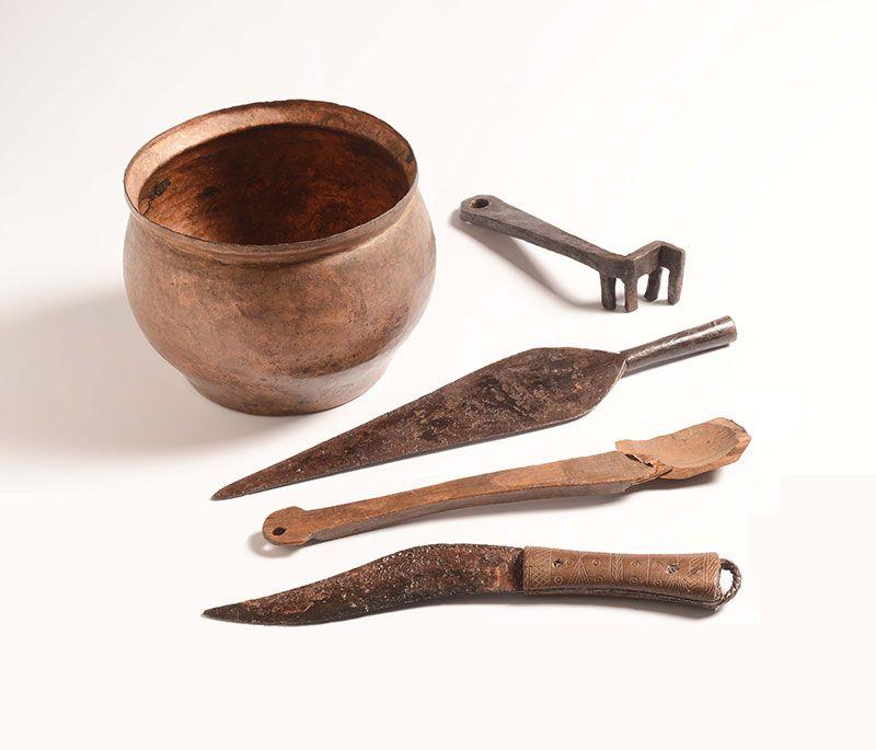 Romeinse voorwerpen kookgerei