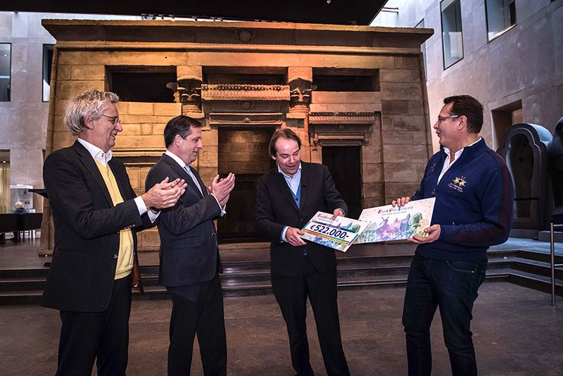 BankGiro Loterij cheque Tempelzaal