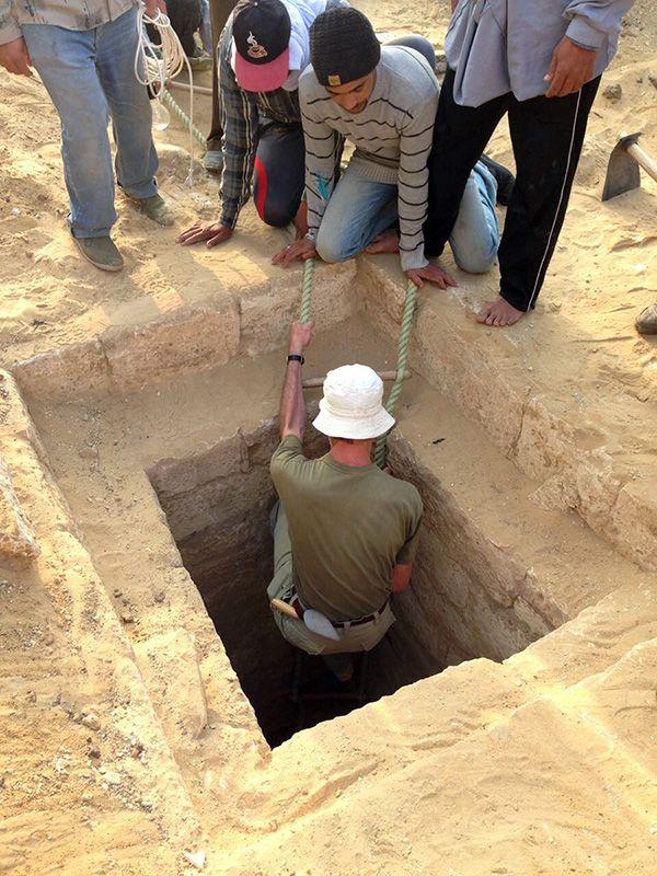 Opgraving Sakkara