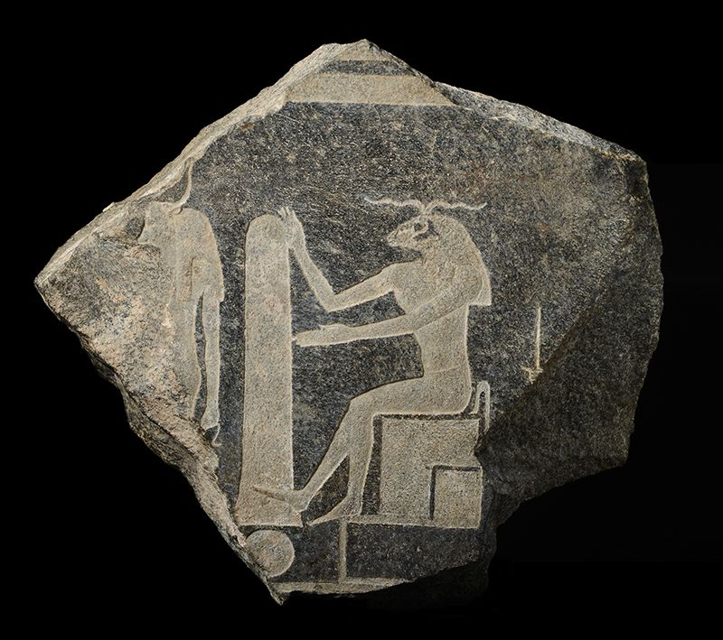 Egyptische scheppingsgod Chnoem