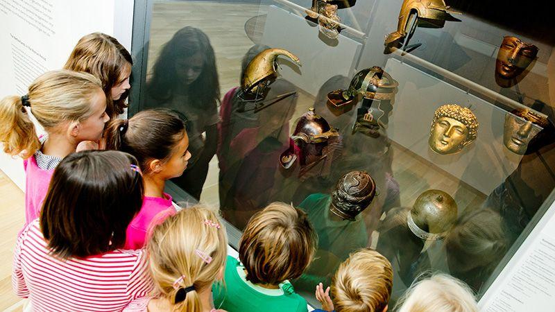 Kinderen Nederland Romeinse tijd Museumles Romeinen