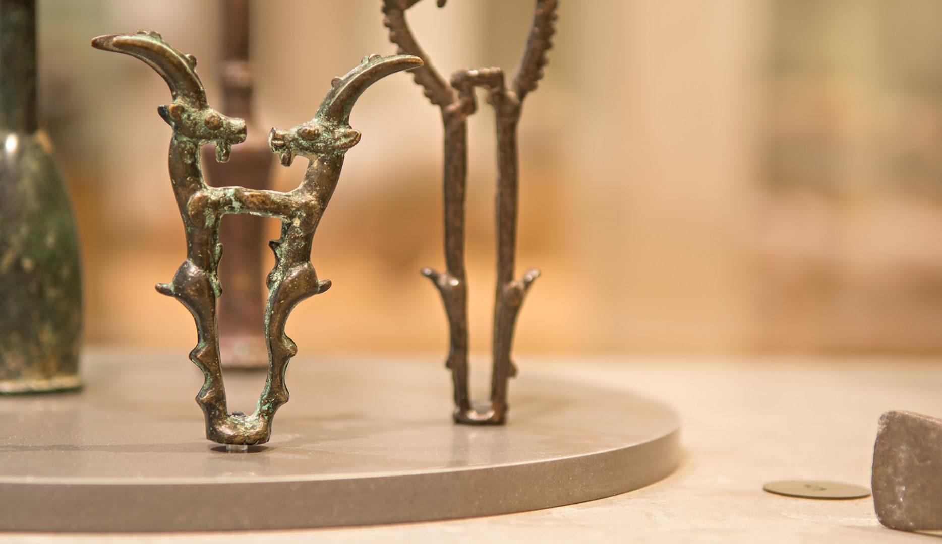 Voorwerpen in de oude Nabije Oosten-zalen