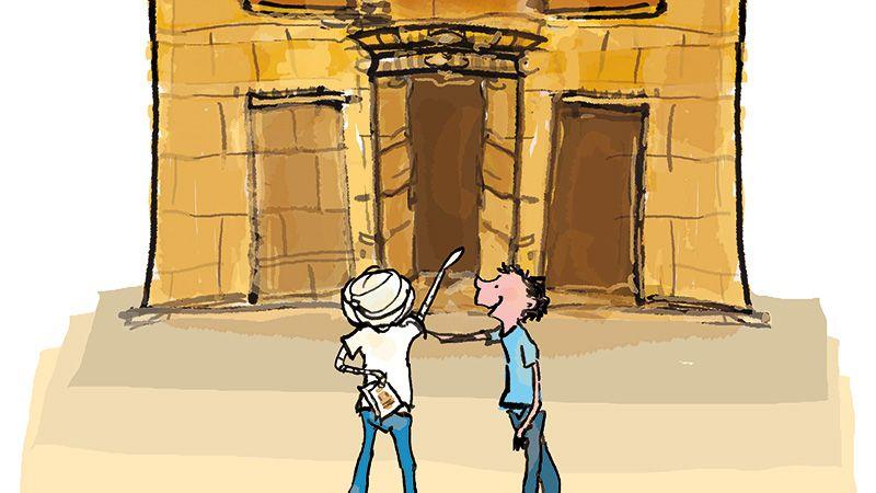 Dummie de mummie tempel