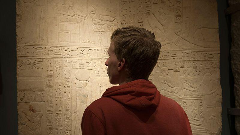 Leerlingen Egypte
