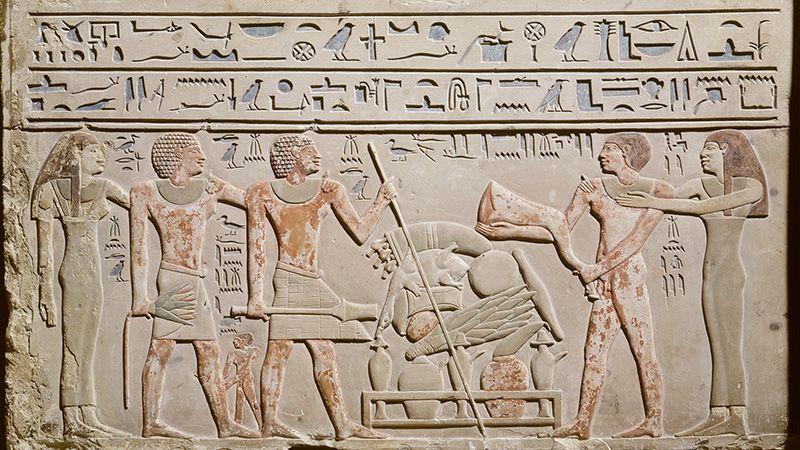 Schenken en nalaten Grafsteen Abydos