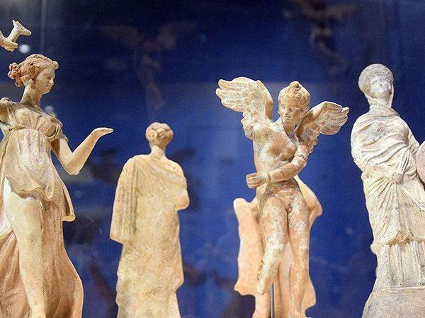 Vaste tentoonstelling Klassieke wereld Grieken