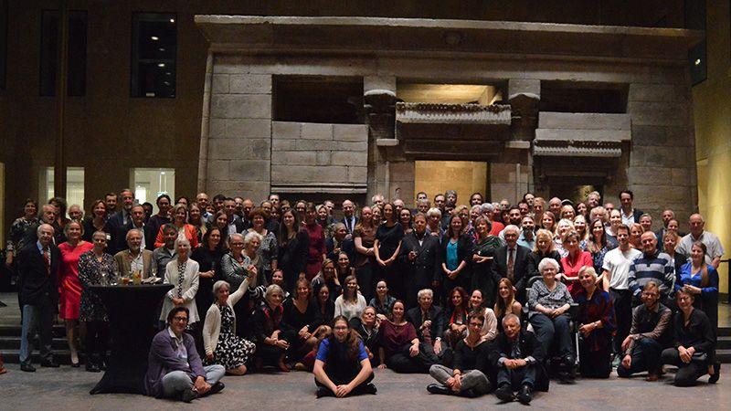 Medewerkers Organisatie Groepsfoto personeelsfeest 200 jaar RMO