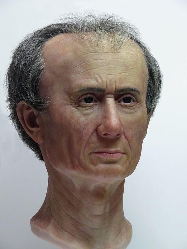 Reconstructie Julius Caesar Maja d'Hollosy