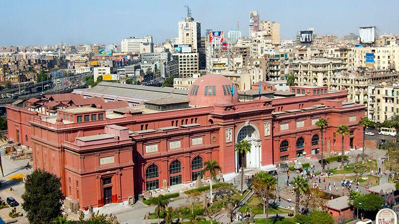 Egyptisch Museum Cairo