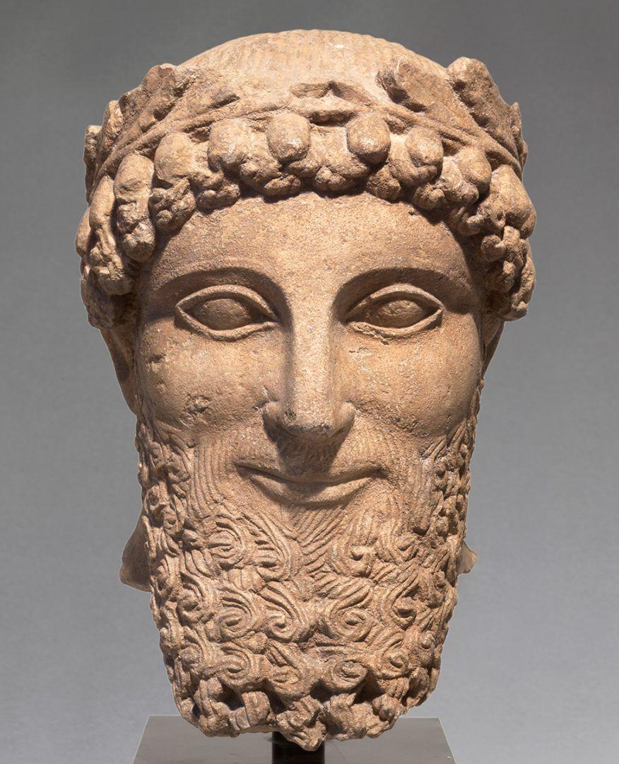 Portret man mannenbeeld Cyprus
