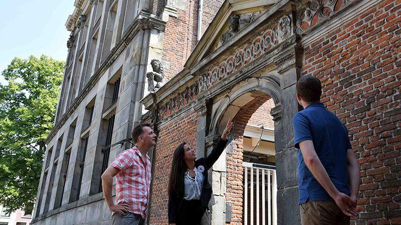 Stadsrondleiding Leiden stadswandeling