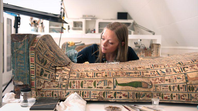 Helbertijn Krudop mummiekist