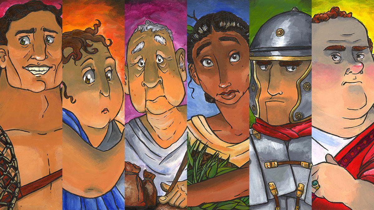 Romeinen verjaardagsfeestje
