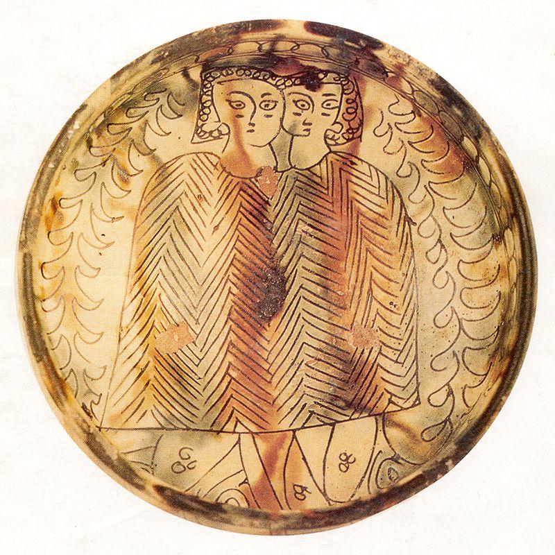Kruisvaarders Sgrafitto_aardewerk_Cyprus