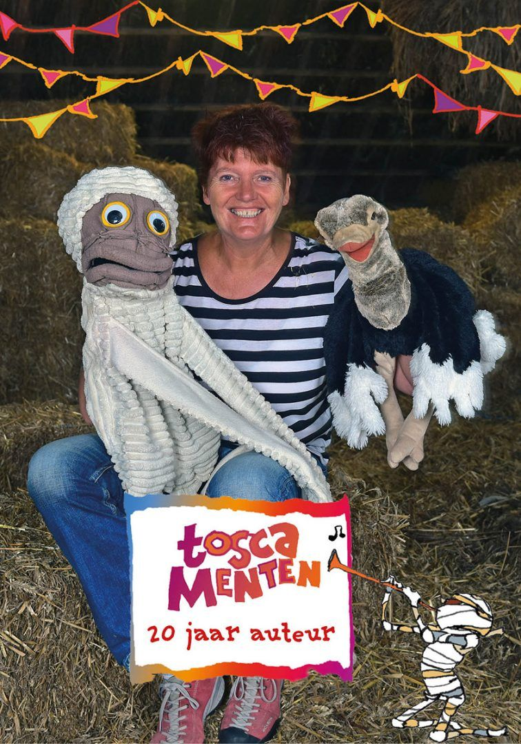 Dummie de mummie-fanmiddag Tosca Dummie 20 jaar