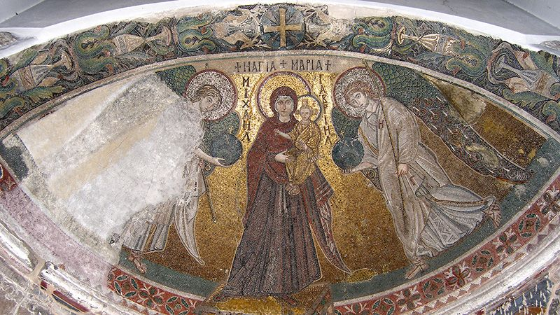 Mozaiek Panayia Angeloktisti