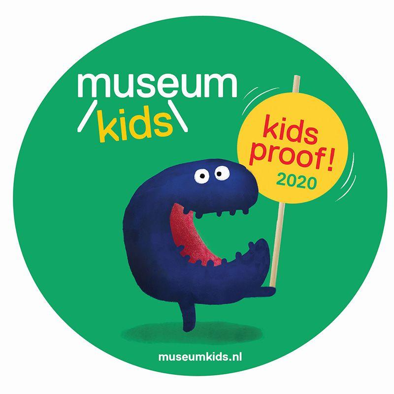 Kidsproof certificaat 2020 Museumkids
