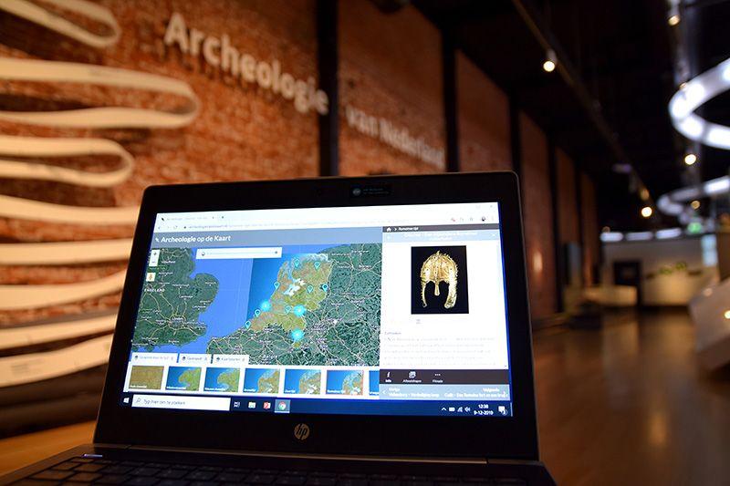 Vernieuwde website Archeologie op de Kaart