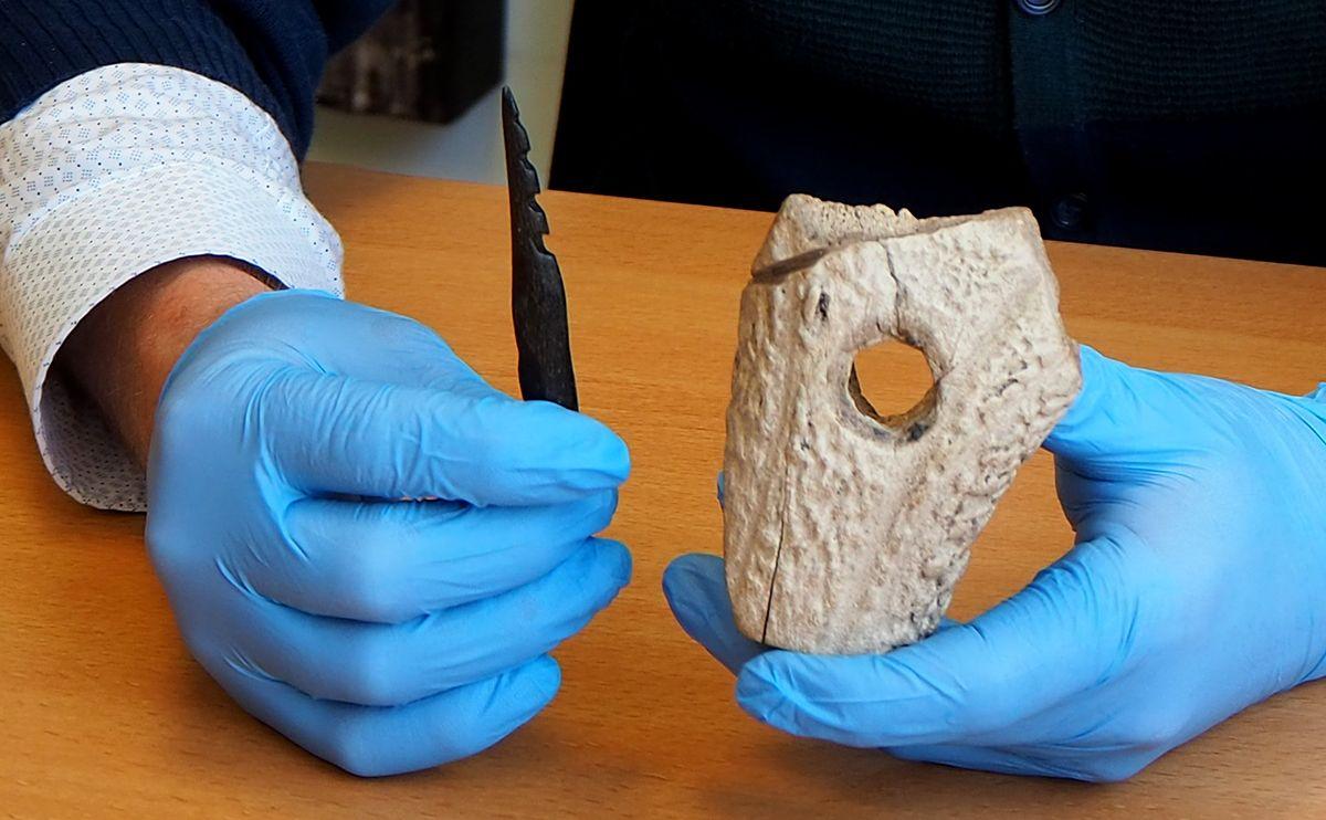 Schenking collectie Noordzee-archeologie