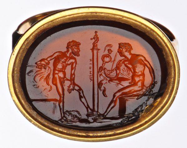 Op de proef gesteld pop-up tentoonstelling Odysseus en Diomedes