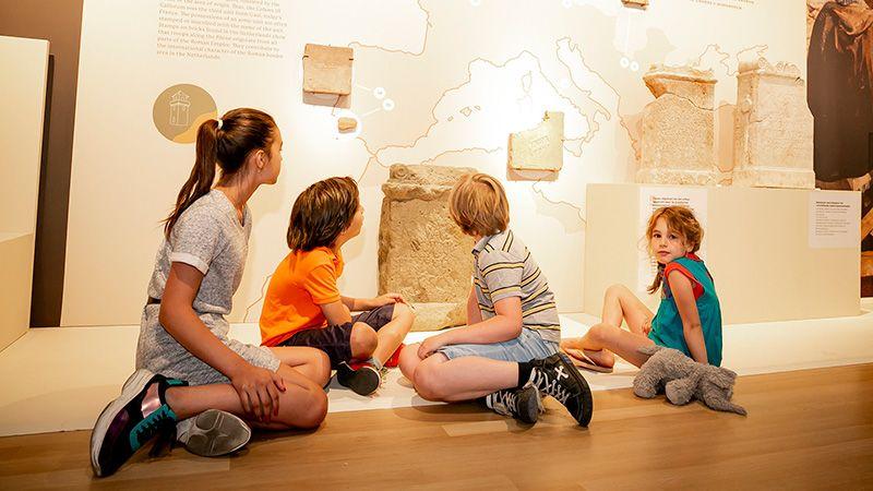 Romeinse zomervakantie 2020 kinderen Romeinen langs de Rijn