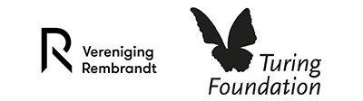 Logo's Vereniging Rembrandt en Turing Foundation