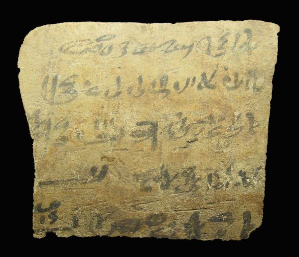 Egyptische aanwinsten ostraca