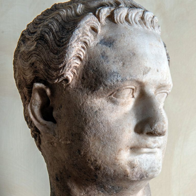 Keizer Domitianus buste