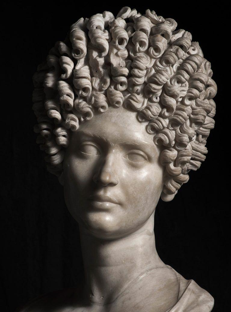 Keizer Domitianus rijke dame