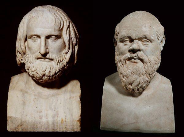 Socrates en Euripides