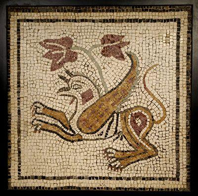 Het jaar 1000 Mozaiek griffioen