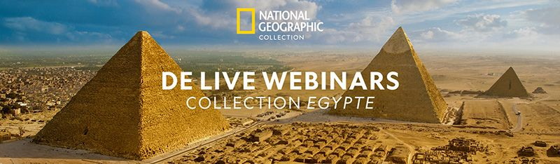 Collection Egypte National Geographic