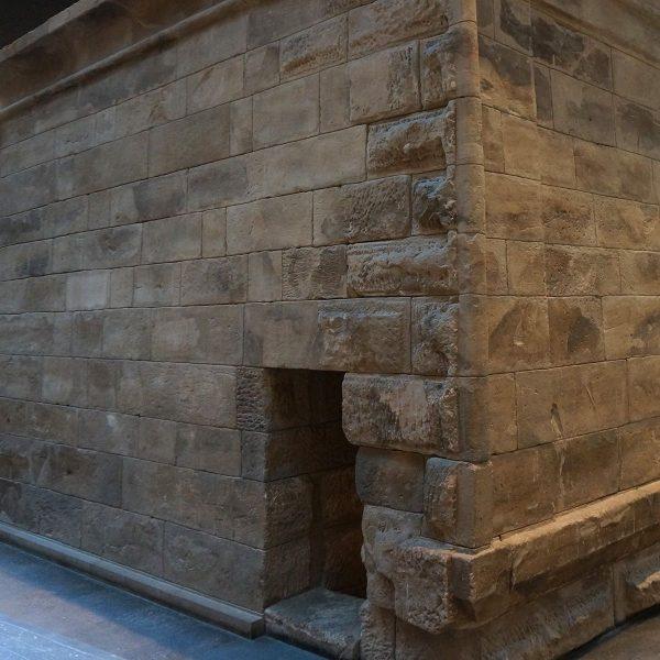 Tempel van Taffeh kerkdeur